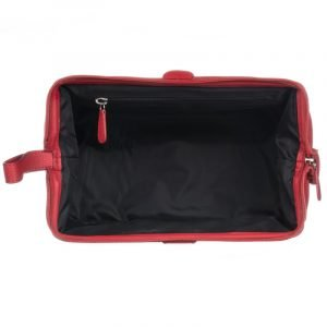 Red Arrows Wash Bag Interior