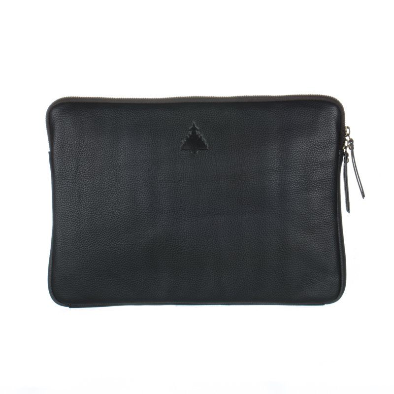 Typhoon Embossed leather laptop bag