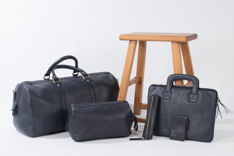 ASALI leather navy range full set