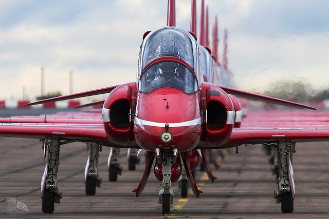 Spring Hawk – What this means for the RAF Red Arrows.