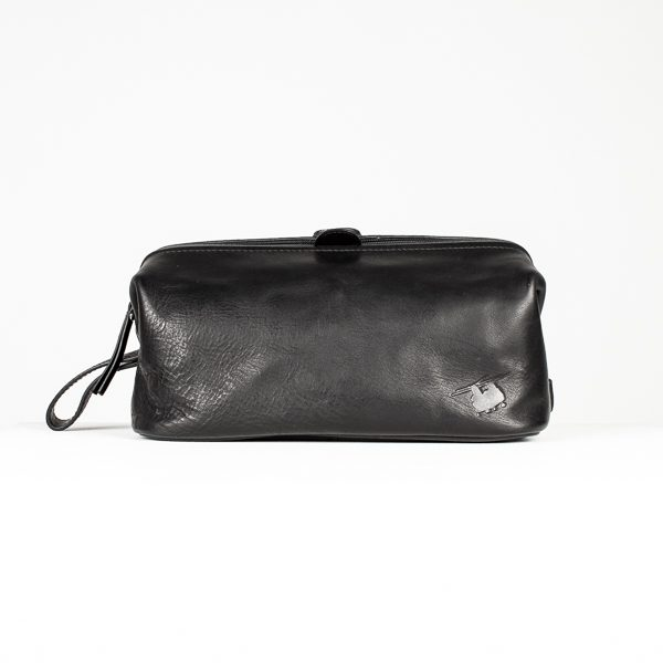 RAF Chinook Italian Leather Wash Bag
