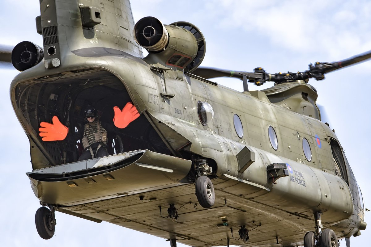It's 'Rotors Running' for ASALI and the Chinook Display Team